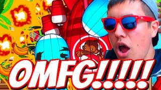 Bloons TD Battles | ULTIMATE CONFUSION! OMFG CRAZY BATTLE! | Bloons TD Fun Gameplay