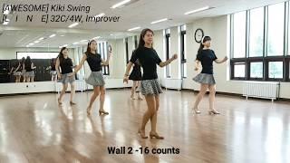 Kiki Swing Line Dance (Pat Stott&Sandra Speck)