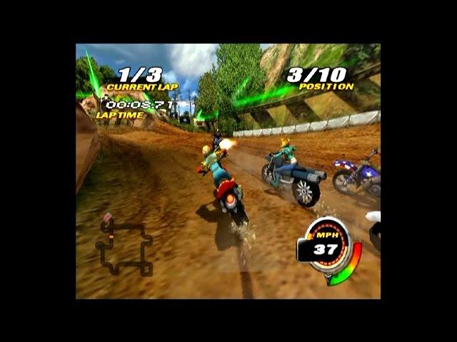 Nitrobike ... (PS2) Gameplay