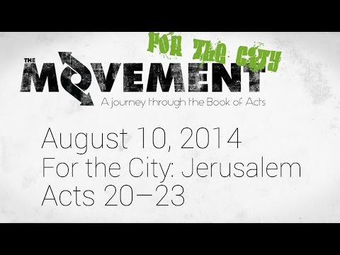 The Movement: For the City (Jerusalem)