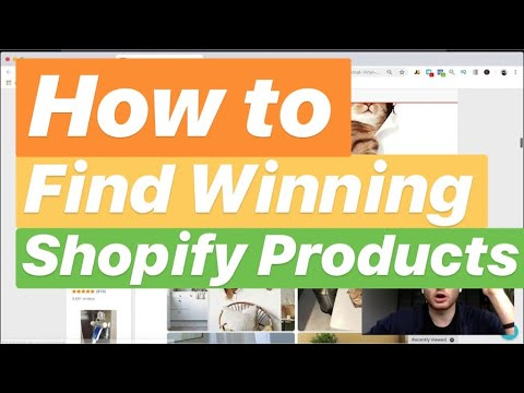 How to Find Shopify Winning Products With Ease - Shopify Dropshipping  Product Research 2018