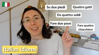 5 Italian idioms that are super useful for informal conversation (Sub)