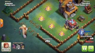Clash of clans. Builders base. High trophies with lvl 6 arch and a tough base... You can do it too