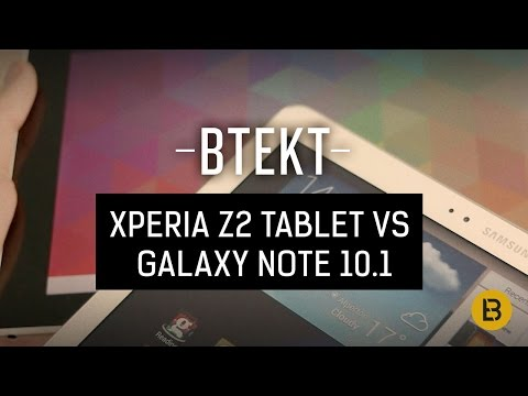 Sony Xperia Z2 Tablet vs Samsung Galaxy Note 10.1 2014