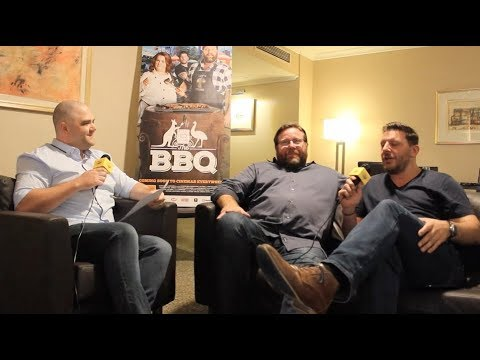Interview: Shane Jacobson & Manu Feildel (The BBQ)