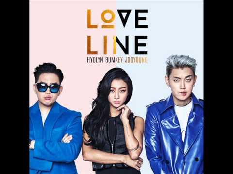 Hyolyn (효린), Bumkey (범키), Jooyoung (주영) - Love Line [MP3 Audio]