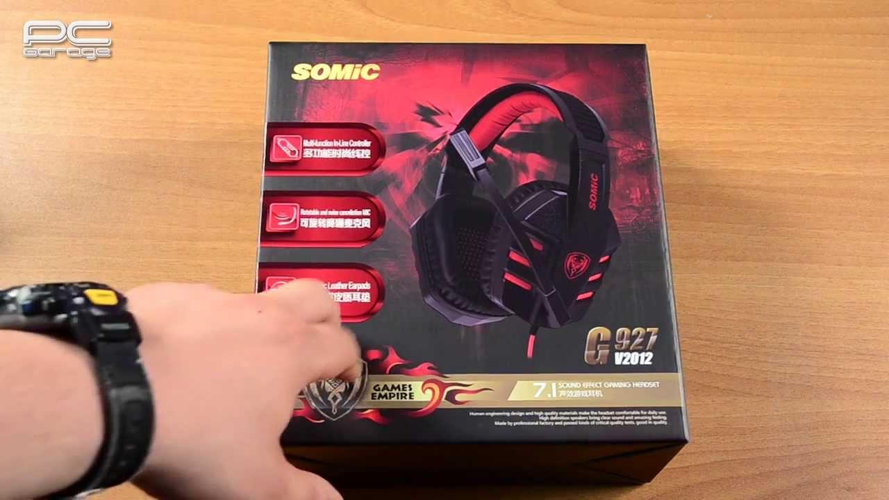 Unboxing Casti Somic G927 V2012