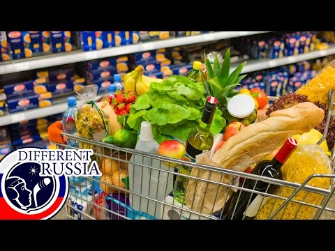 Food Prices 2016 in Russia // Unusual & Extraordinary Shopping on Different Russia Channel