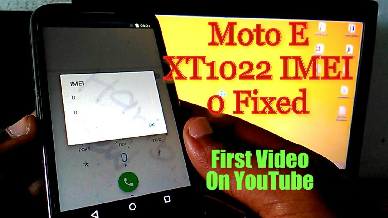 Moto e 1st gen xt1022 and xt1033 IMEI 0 Problem Solved Without Any Box
