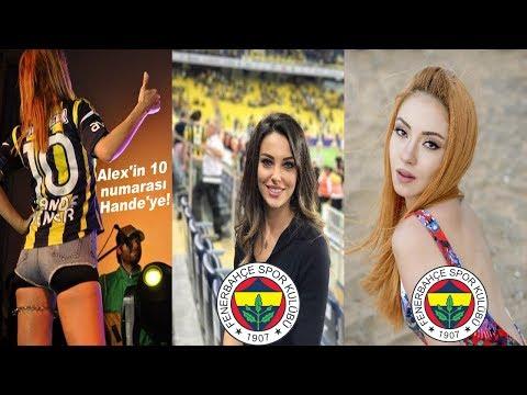 Fenerbahçeli Ünlüler 2018 (Ece Seçkin,Tuvana Türkay,Hande Yener)