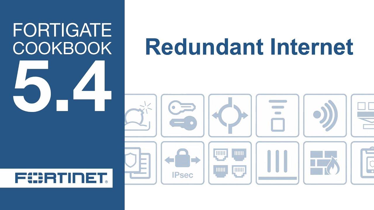 FortiGate Cookbook - Redundant Internet (5 4)
