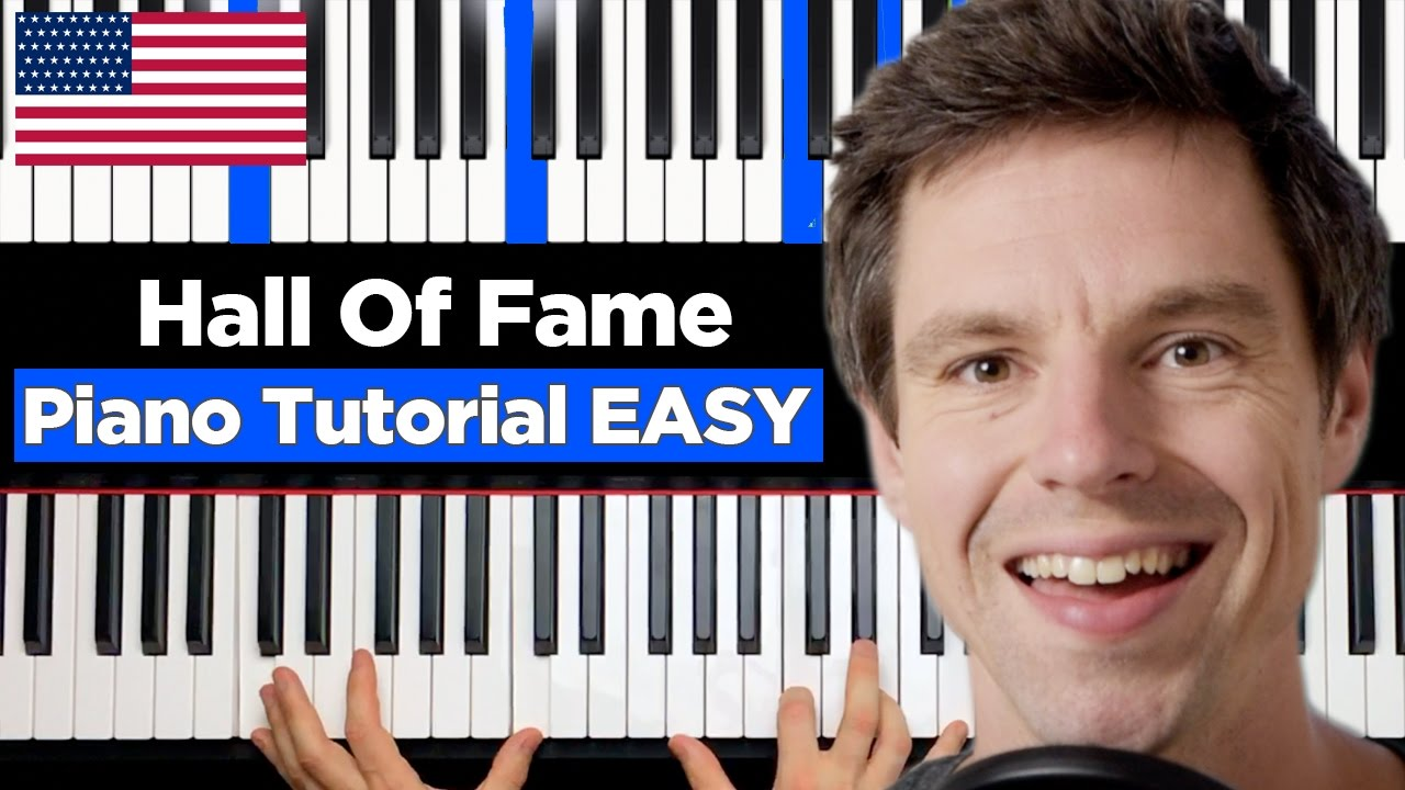 The Script - Hall Of Fame - ft. will.i.am - Piano Tutorial ...