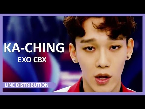 [LINE DISTRIBUTION] EXO CBX - Ka-ching