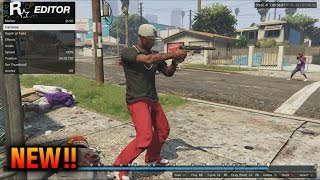 GTA 5 Rockstar Editor Tutorial - How To Create a Movie (GTA 5 Online DLC Rockstar Editor)