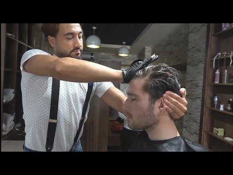 ASMR Turkish Barber Face,Head And Hand Massage 270