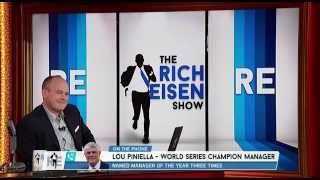Lou Piniella on the Rich Eisen Show for The Baseball Diet