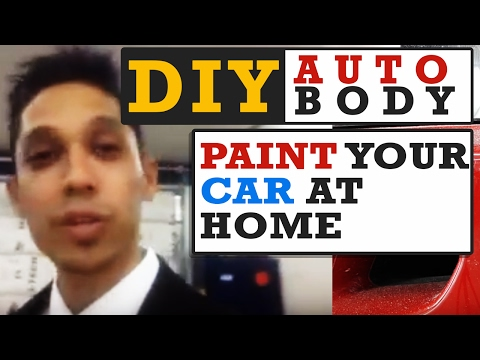 You CAN Paint Your Car At Home - DIY Auto Body Mastery With