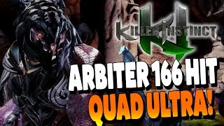 Arbiter 166 Hit Quadruple Musical Combo - Killer Instinct Season 3
