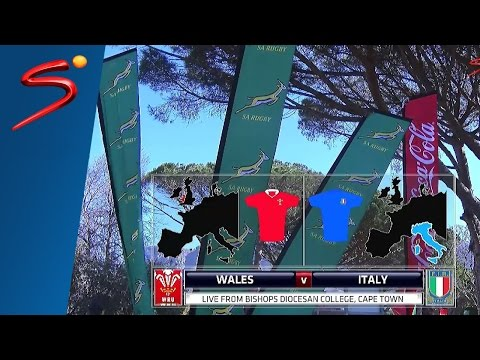 U/19 International Series: Wales vs Italy 1st Half