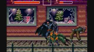 Batman Returns gameplay