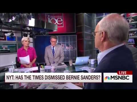 "MSNBC admits: 'We need more Bernie Sanders stories!"" (Sep 10, 2015)"