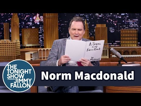 Norm Macdonald Reads an Excerpt from His Unreleased Book Sequel