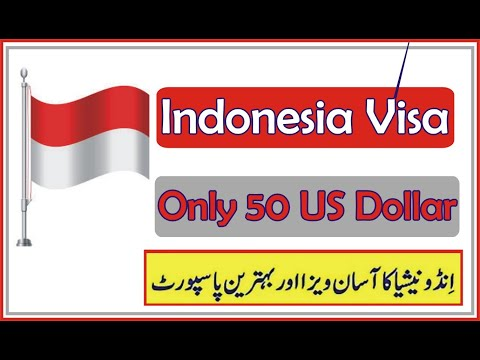 Indonesia Visa For Pakistan | Work/Visit Visa | Indonesia Visa Requirement || World Say Online Visa