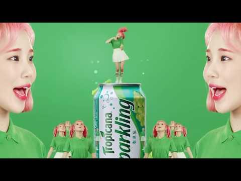 Addictive Crazy commercial SERIES. Phenomenal sensation of 6 flavors Tropicana Sparkling South Korea