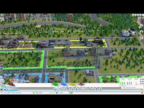SimCity Online Gameplay by SKS Plays: w. Azure Alliance and Dwarven Viking [Episode 5]