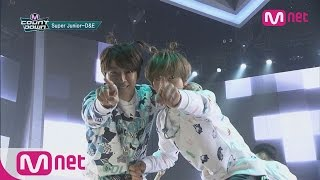 Super Junior D&E! Funky Harmony between friends! [M COUNTDOWN] EP.416