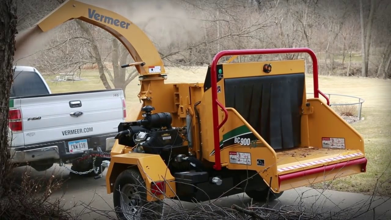 BC900XL Brush Chipper Vermeer Tree Care Equipment