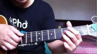 """Hướng dẫn chơi guitar bài """"Happy birthday"""""""