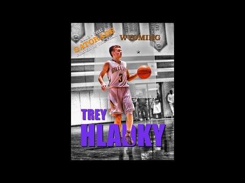 2016-2017 Wyoming Boys Basketball Gatorade Player Of The Year - Trey Hladky CHC
