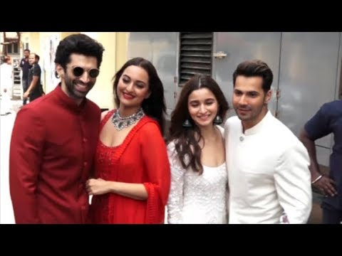 Alia Bhatt, Varun Dhawan, Sonakshi Sinha & Aditya Roy Kapur Together At Kalank Teaser Launch