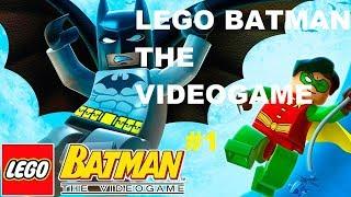 Lego  Batman The Videogame #1 Cara de Barro