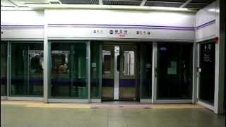[FHD]ソウル 5号線 5000系 往十里駅 上一洞行 発車