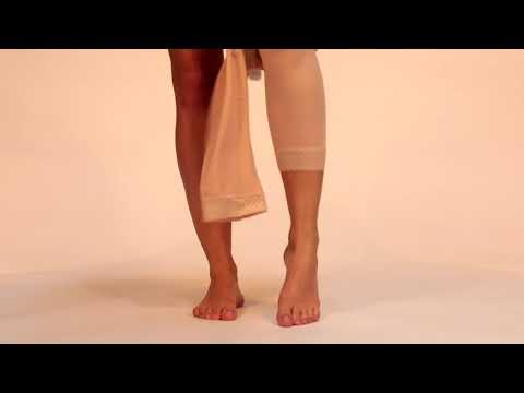 How to put on the LIPOELASTIC leggings?