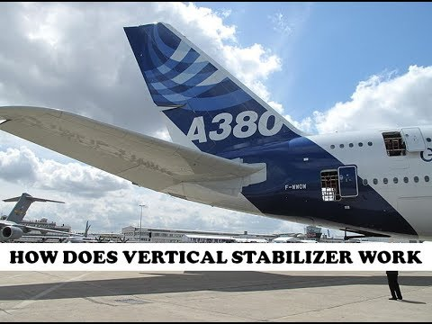 How does vertical Stabilizer work on an Aircraft