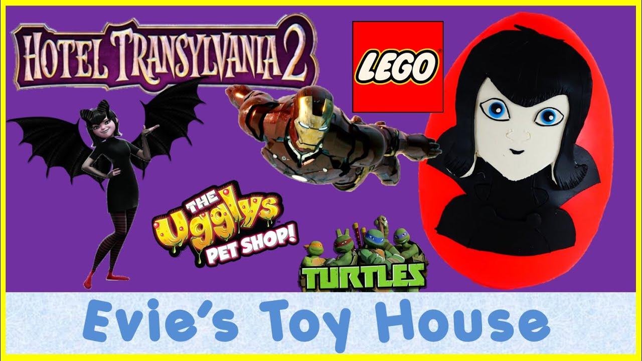 Hotel Transylvania 2 Movie featuring Mavis Play-doh Egg Surprise Toys |  Evies Toy House