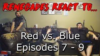 Renegades React to... Red vs. Blue Episodes 7 - 9 thumbnail