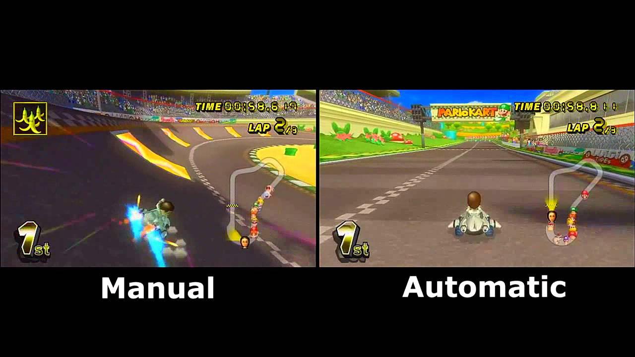 mario kart wii manual vs automatic youtube rh youtube com manual shift mario kart wii manual shift mario kart wii
