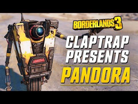 Клэптрэп представляет путеводитель по Пандоре в Borderlands 3