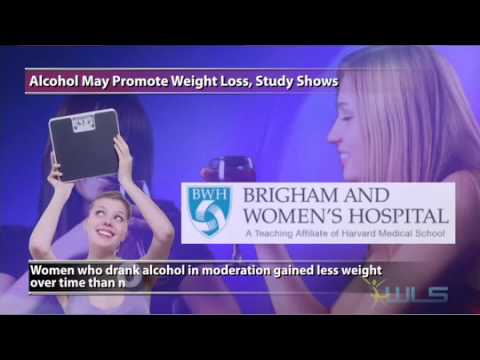 Alcohol May Curb Weight Gain, Study Shows