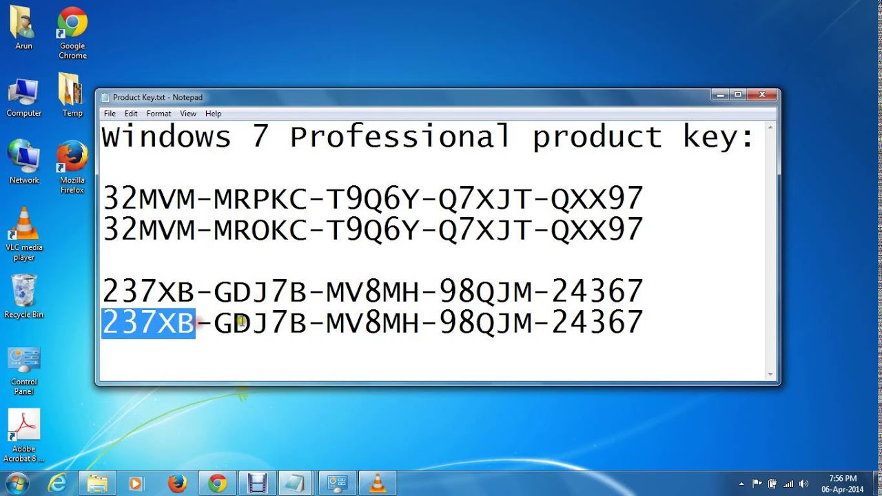 Windows xp x64 professional serial