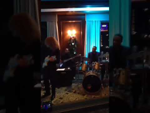 Max Holm Band Boston Harbor Hotel w Jack Dinger