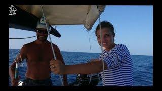 Пересечение экватора на яхте. Нептун в гостях у Travely-Family