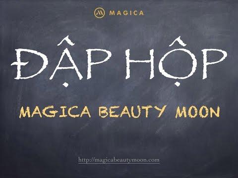 Đập Hộp Máy Matxa Mặt Nhật Bản Magica Beauty Moon