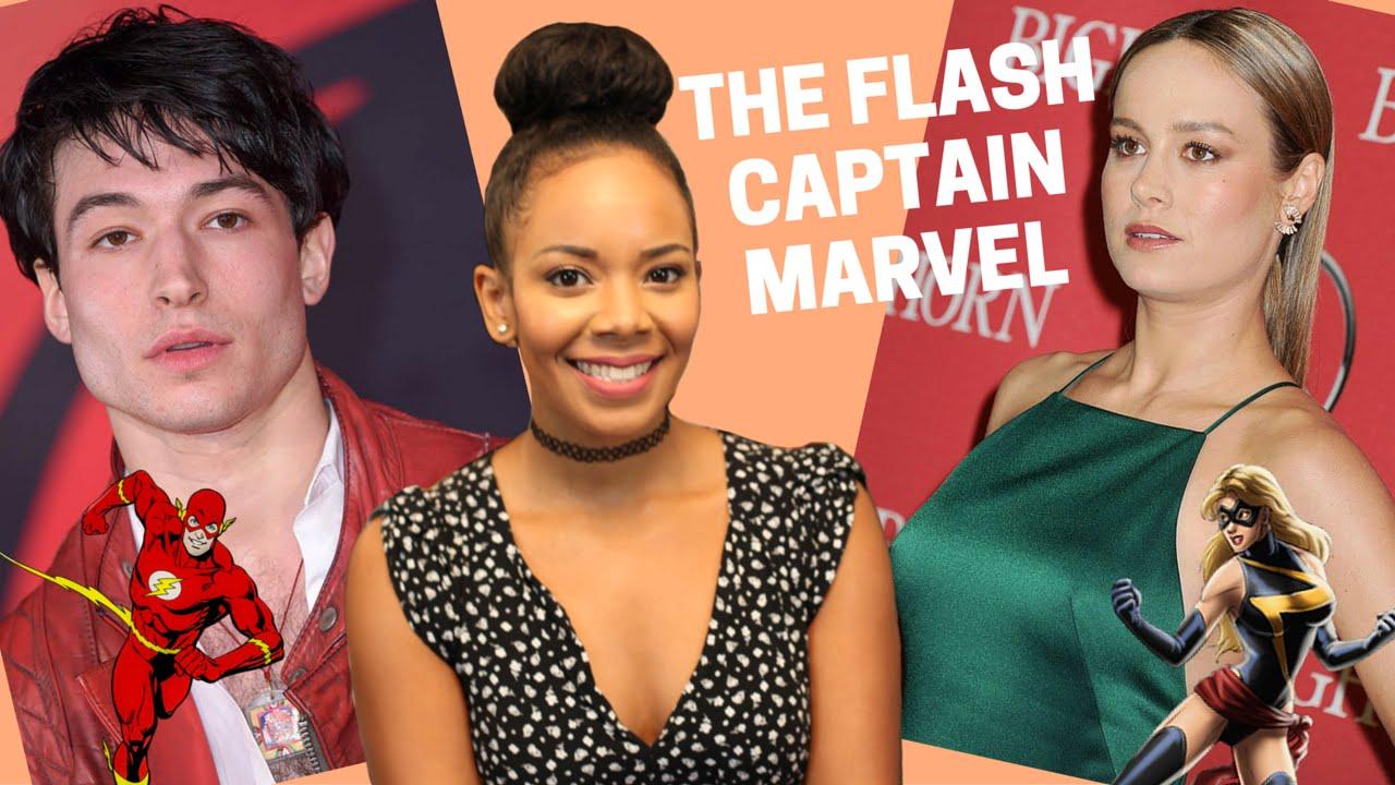 THE FLASH & CAPTAIN MARVEL FILM NEWS