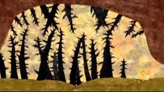 Гора Самоцветов. Птичья нога. Сказка.