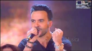 LUIS FONSI EN VIVO en el programa Amici del Canale 5 de Italia -Despacito